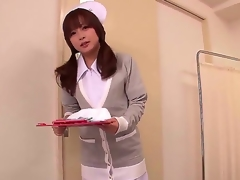 This gorgeous Japanese nurse knows whats what in treating men and this babe got her own way of it. She does it throughout tugjobs and now the chick intend to show us how this babe does it.