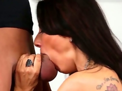 Young handsome stud Xander Corvus records in point of view seductive arousing and playful milf Zoey Holloway with perfect melons and astonishing oral skills sucking his unyielding 10-Pounder