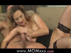 Mamma horny housewife is in the mood for fucking