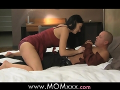 MOM Cougar wife bonks her lover