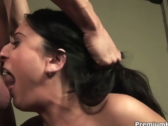 Luscious Lopez fucked in her mouth