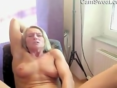 Hot And Stripped Older Woman