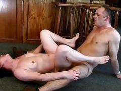 Nasty mature whore goes insane sucking