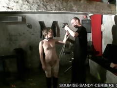 video bdsm soumise sandy bondage and fuck