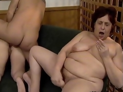 Nasty old sluts go forward daft sucking cocks segment