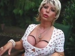 Piss Busty Blonde Mama Doxy Begin proceed And Drag inflate A Locate