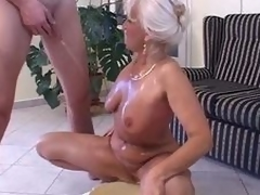 Piss: granny in satin - void urine and intrigue b passion