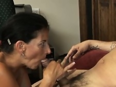 She blows his dick and about to receives on tap bottom to ride his magic narrows on tap work