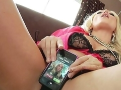 For a sex junkie like Diana Doll, even a cellphone call takes on sexual undertones. When her phone rings it vibrates and that often means her 1st thought is to fuck it... lengthy previous to this chick ever thinks to answer it! Having her phone number is like foreplay with Diana!